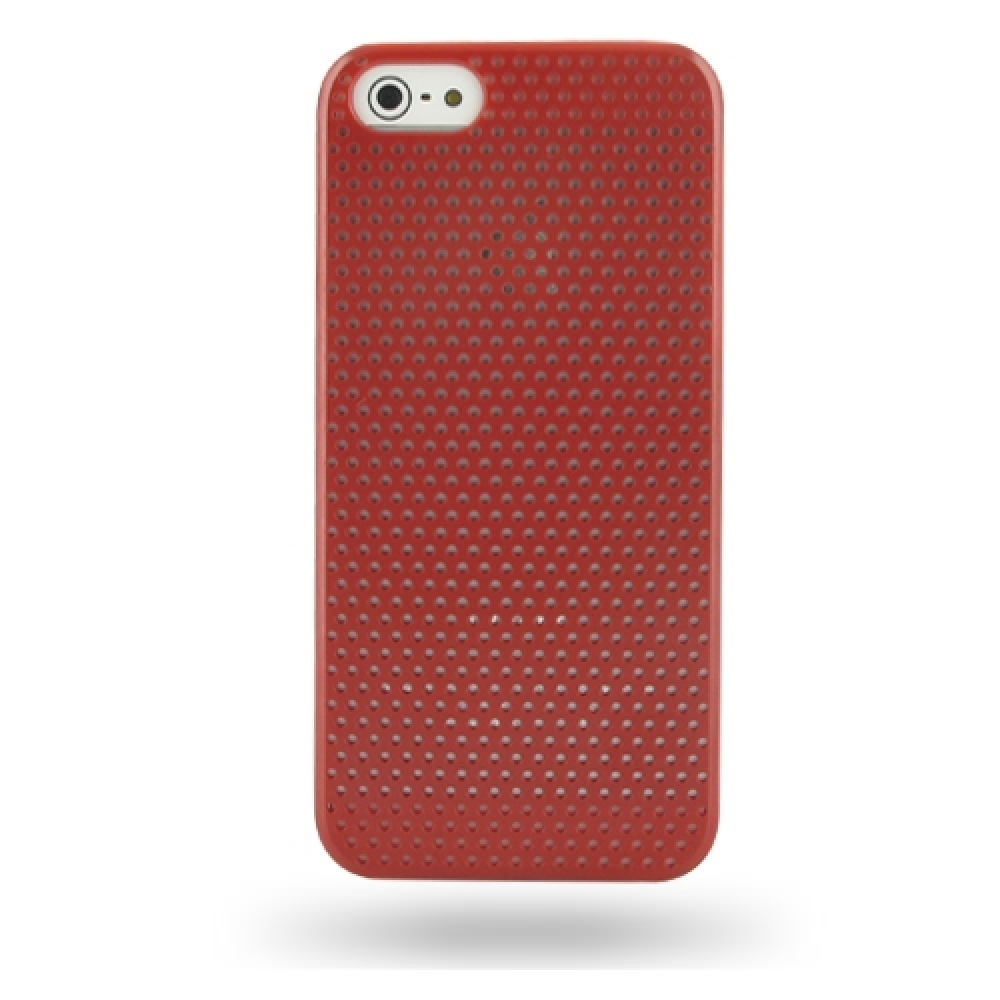 10% OFF + FREE SHIPPING, Buy Best PDair Top Quality Protective iPhone 5 | iPhone 5s Plastic Hard Case (Red Perforated Pattern) online. You also can go to the customizer to create your own stylish leather case if looking for additional colors, patterns and