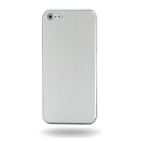 Plastic Hard Case for Apple iPhone 5 | iPhone 5s (Silver)