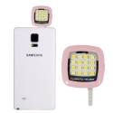 Portable Night Using Selfie Enhancing Flash Light (Pink) :: PDair