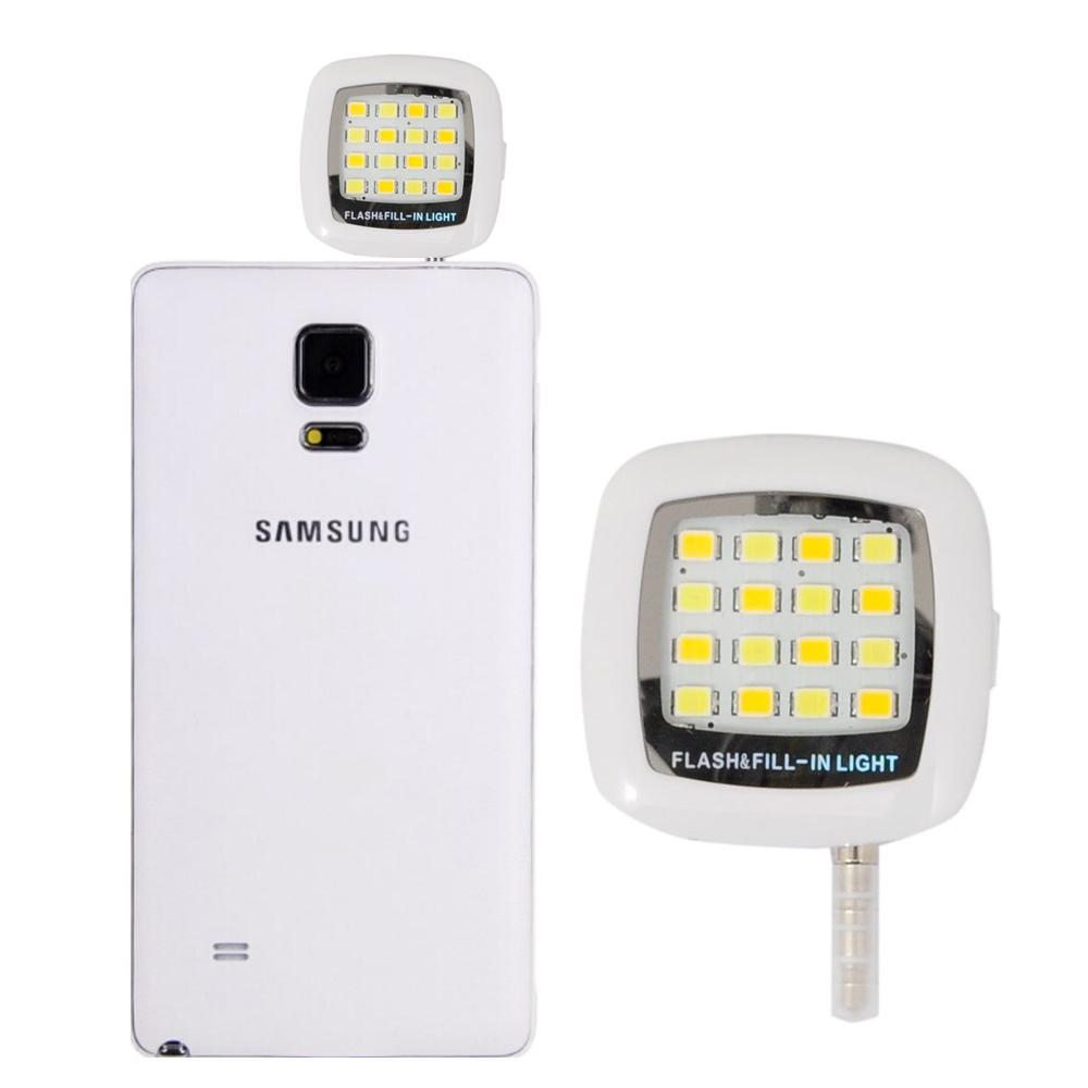 Portable Night Using Selfie Enhancing Flash Light (White) :: PDair
