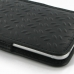iPhone 6 6s Leather Sleeve Pouch Case (Black Metal Pattern) handmade leather case by PDair