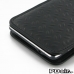 Samsung Galaxy Note 4 Leather Sleeve Pouch Case (Black Metal Pattern) top quality leather case by PDair