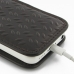 iPhone 5c Leather Sleeve Pouch Case (Brown Metal Pattern) handmade leather case by PDair