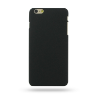 Rubberized Hard Cover for Apple iPhone 6 Plus | iPhone 6s Plus (Black)