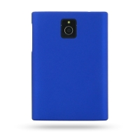 Rubberized Hard Cover for BlackBerry Passport (Blue)