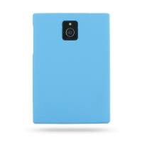 Rubberized Hard Cover for BlackBerry Passport (Light Blue)