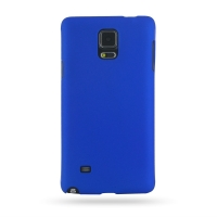 Rubberized Hard Cover for Samsung Galaxy Note 4 | Samsung Galaxy Note4 | SM-N910 (Blue)