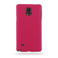 Rubberized Hard Cover for Samsung Galaxy Note 4 | Samsung Galaxy Note4 | SM-N910 (Petal Pink)