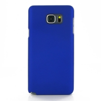 Rubberized Hard Cover for Samsung Galaxy Note 5 | Samsung Galaxy Note5 (Blue)