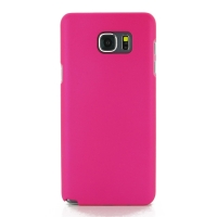 Rubberized Hard Cover for Samsung Galaxy Note 5 | Samsung Galaxy Note5 (Petal Pink)