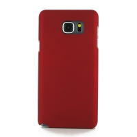 Rubberized Hard Cover for Samsung Galaxy Note 5 | Samsung Galaxy Note5 (Red)