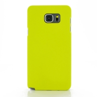 Rubberized Hard Cover for Samsung Galaxy Note 5 | Samsung Galaxy Note5 (Yellow)