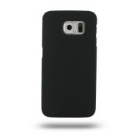 Rubberized Hard Cover for Samsung Galaxy S6 (Black)