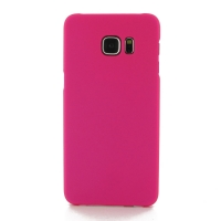 Rubberized Hard Cover for Samsung Galaxy S6 edge+ Plus (Petal Pink)