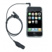 Apple iPhone Earphone Adaptor with handsfree genuine leather case by PDair