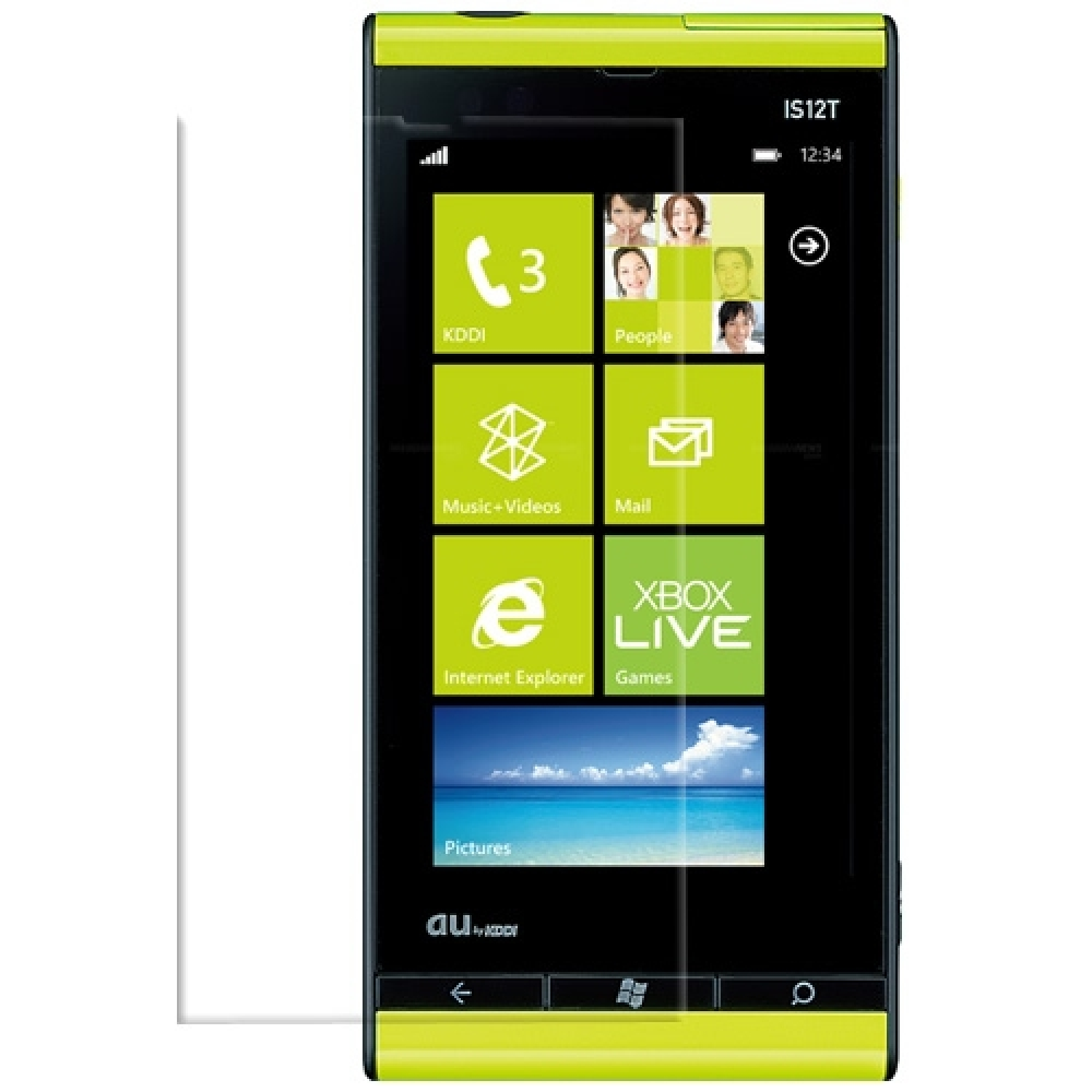 Windows Phone IS12T Screen Protector :: PDair 10% OFF + FREE