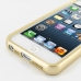 iPhone 5 5s Aluminum Metal Bumper Case (Gold) handmade leather case by PDair