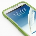 Samsung Galaxy Note 2 Aluminum Metal Bumper Case (Green) genuine leather case by PDair