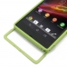 Sony Xperia Z Aluminum Metal Bumper Case (Green) top quality leather case by PDair
