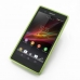 Sony Xperia Z Aluminum Metal Bumper Case (Green) custom degsined carrying case by PDair