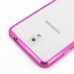 Samsung Galaxy Note 3 Aluminum Metal Bumper Case (Petal Pink) protective carrying case by PDair