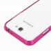 Samsung Galaxy Note 2 Aluminum Metal Bumper Case (Petal Pink) protective carrying case by PDair