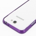 Samsung Galaxy Note 2 Aluminum Metal Bumper Case (Purple) protective carrying case by PDair