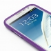 Samsung Galaxy Note 2 Aluminum Metal Bumper Case (Purple) genuine leather case by PDair