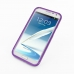 Samsung Galaxy Note 2 Aluminum Metal Bumper Case (Purple) top quality leather case by PDair