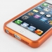 iPhone 5 5s Aluminum Metal Bumper Case (Orange) handmade leather case by PDair