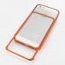iPhone 5 5s Aluminum Metal Bumper Case (Orange) genuine leather case by PDair