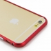 iPhone 6 6s Aluminum Metal Bumper Case (Red) genuine leather case by PDair