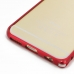 iPhone 6 6s Aluminum Metal Bumper Case (Red) top quality leather case by PDair