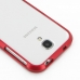 Samsung Galaxy S4 Aluminum Metal Bumper Case (Red) protective carrying case by PDair
