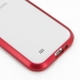 Samsung Galaxy S4 Aluminum Metal Bumper Case (Red) handmade leather case by PDair