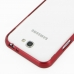 Samsung Galaxy Note 2 Aluminum Metal Bumper Case (Red) protective carrying case by PDair