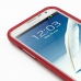 Samsung Galaxy Note 2 Aluminum Metal Bumper Case (Red) genuine leather case by PDair