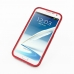 Samsung Galaxy Note 2 Aluminum Metal Bumper Case (Red) top quality leather case by PDair