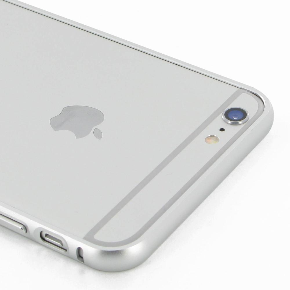iphone 6 6s plus aluminum metal bumper case silver pdair 10 off. Black Bedroom Furniture Sets. Home Design Ideas