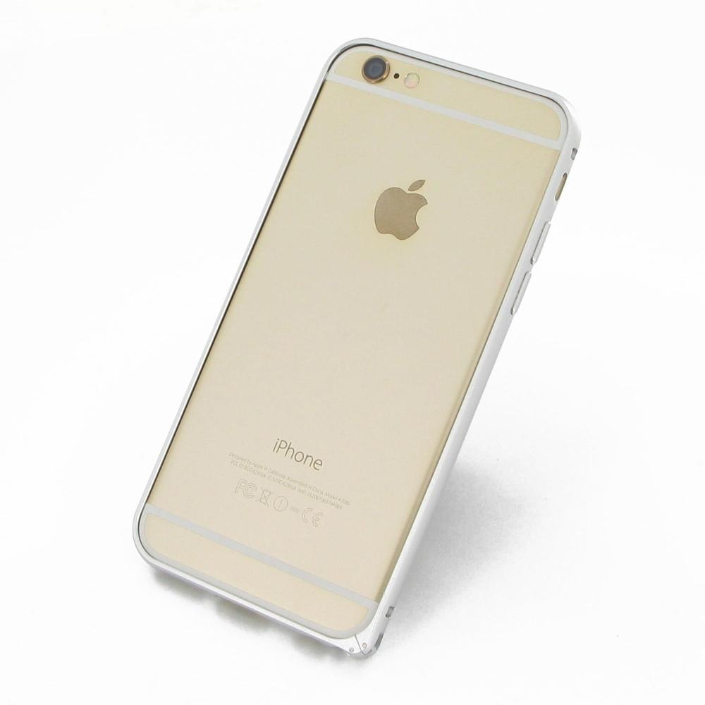 iphone 6 6s aluminum metal bumper case silver pdair 10 off. Black Bedroom Furniture Sets. Home Design Ideas