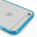 iPhone 6 6s Plus Aluminum Metal Bumper Case (Blue) handmade leather case by PDair