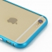 iPhone 6 6s Aluminum Metal Bumper Case (Blue) protective carrying case by PDair