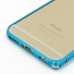 iPhone 6 6s Aluminum Metal Bumper Case (Blue) handmade leather case by PDair