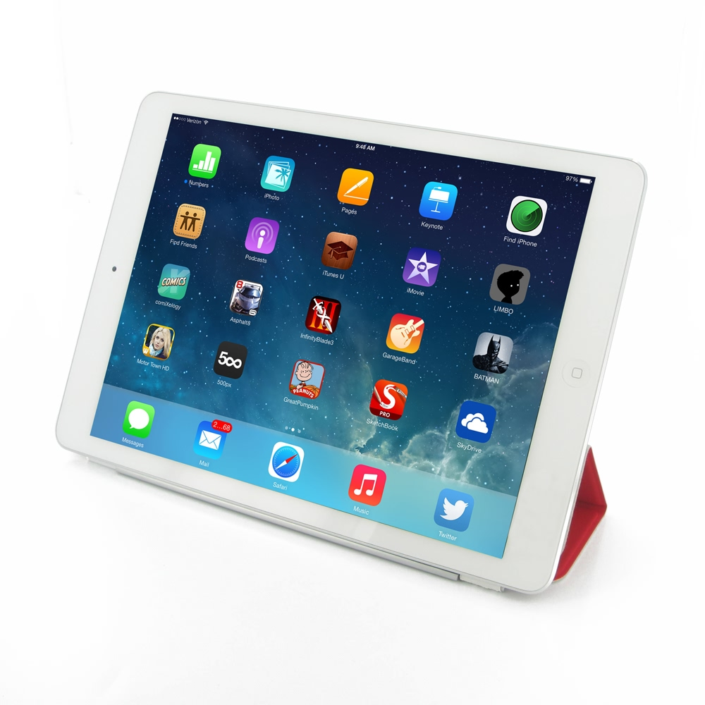 Ipad air smart cover red pdair 10 off free shipping - Smart case ipad air ...
