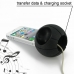 iPhone 4 4s Acoustic Amplifier (Black Basketball) custom degsined carrying case by PDair