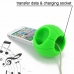 iPhone 4 4s Acoustic Amplifier (Green Basketball) custom degsined carrying case by PDair