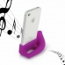 iPhone 4 4s Acoustic Amplifier (Purple Horn) protective carrying case by PDair