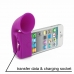 iPhone 4 4s Acoustic Amplifier (Purple Horn) custom degsined carrying case by PDair