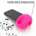iPhone 5 5s Acoustic Amplifier (Pink Ellipse) protective carrying case by PDair