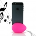 iPhone 5 5s Acoustic Amplifier (Pink Ellipse) custom degsined carrying case by PDair